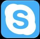 skipe button