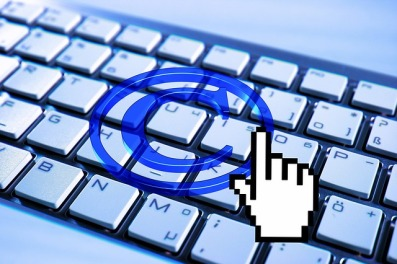image of digital copyright